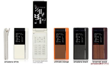 N705i amadana phone